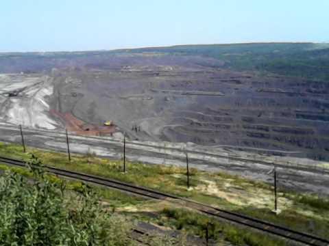 РОССИЯ. ЖЕЛЕЗНОГОРСК месторождения железных руд / RUSSIA. Zheleznogorsk deposits of iron ore