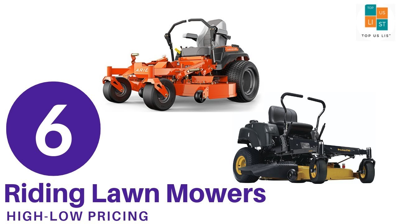 Best Riding Lawn Mowers 2020.Top 6 Best Riding Lawn Mower Of 2020 Updated List