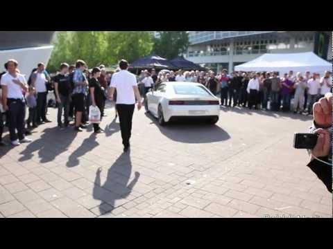 EXCLUSIVE - Audi Quattro (2013) Audi A5 DTM Audi R8 LMS at Frankfurt Motor Show
