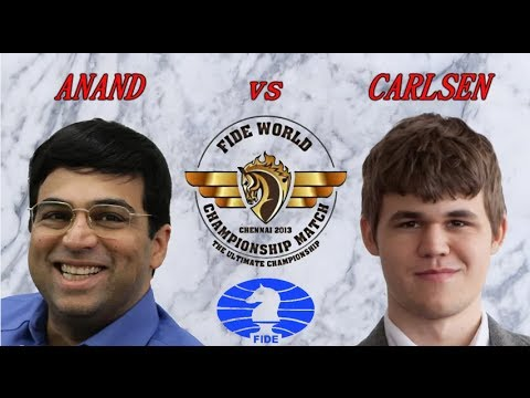 Chess FIDE World Championship Match - Anand Carlsen - EPIC MOMENTS - 2013 Highlights