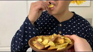 [COOKING] 고구마칩. 에어프라이어 간단요리. 아…