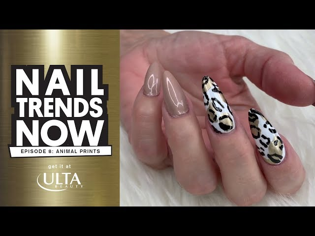 Nail Trends Now - Animal Print - Get It At Ulta Beauty