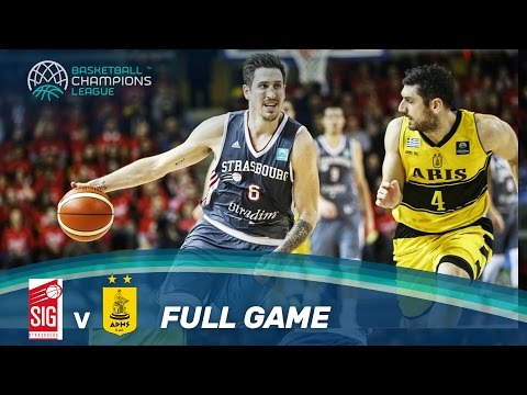 SIG Strasbourg v Aris - Full Game - Play-Off Qualifiers 2 - Basketball Champions League