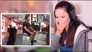 Vocal Coach Reacts -AMAZING Singers caught on camera