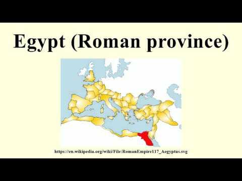 Egypt (Roman province)