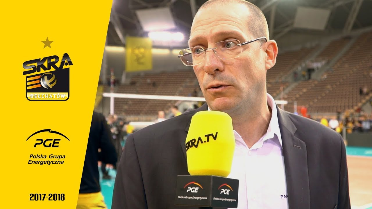 Roberto Piazza post-match interview after PGE Skra – Dynamo Moskwa 3:1