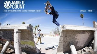 ELEMENT MAKE IT COUNT 2015 GLOBAL FINALS - PART 1