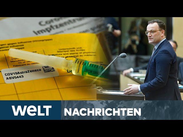IMPFUNGEN FÜR ALLE ab JUNI? Spahn zündet Impf-Turbo! I WELT Newsstream