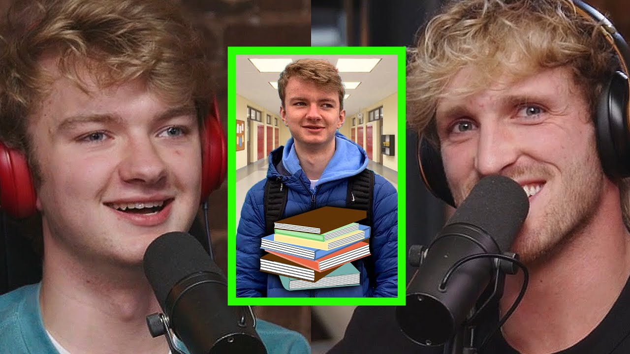 WHY MULTI-MILLIONAIRE TEENAGER STILL GOES TO PUBLIC SCHOOL | TOMMYINNIT