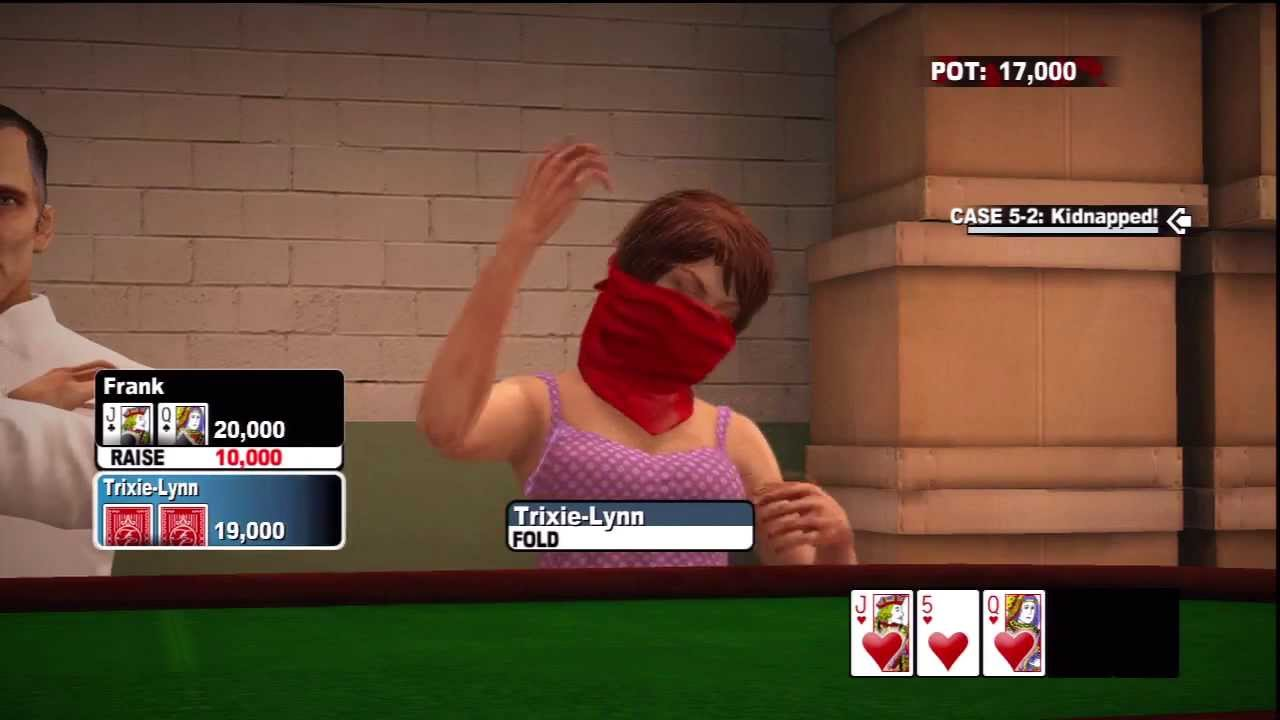 Xbox strip poker kanter poker