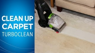 How to clean carpet with your TurboClean™