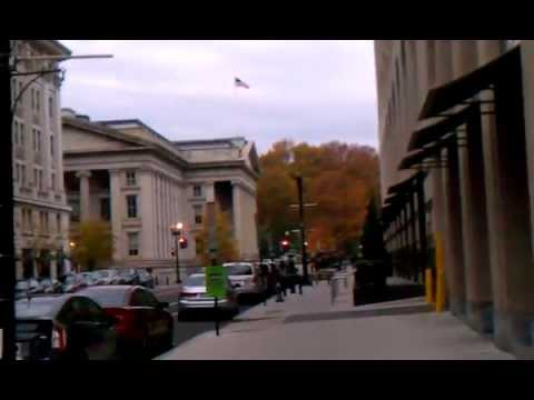Homeless in Washington, DC: The United States Treasury Department