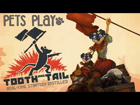 REVOLUTION! | Tooth and Tail | PETS PLAY (Fursuit Lets Play)
