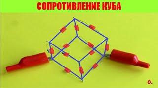 Сопротивление куба