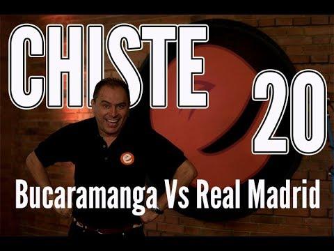 🤪 JOSÉ ORDÓÑEZ   Bucaramanga Vs Real Madrid    CHISTE 20  ✅