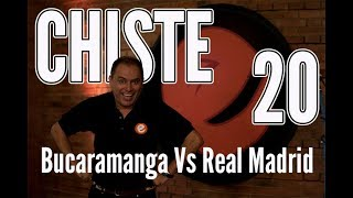 🤪 JOSÉ ORDÓÑEZ | Bucaramanga Vs Real Madrid  | CHISTE 20  ✅