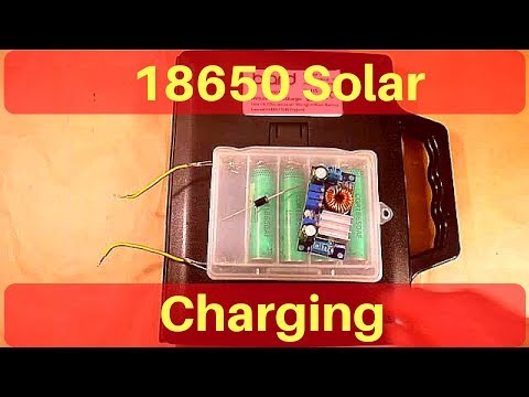 Solar Charging Lithium Ion 18650s - Part 4, Expansion - 12v Solar Shed from YouTube · Duration:  15 minutes 24 seconds