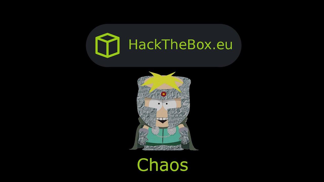 HackTheBox - Chaos