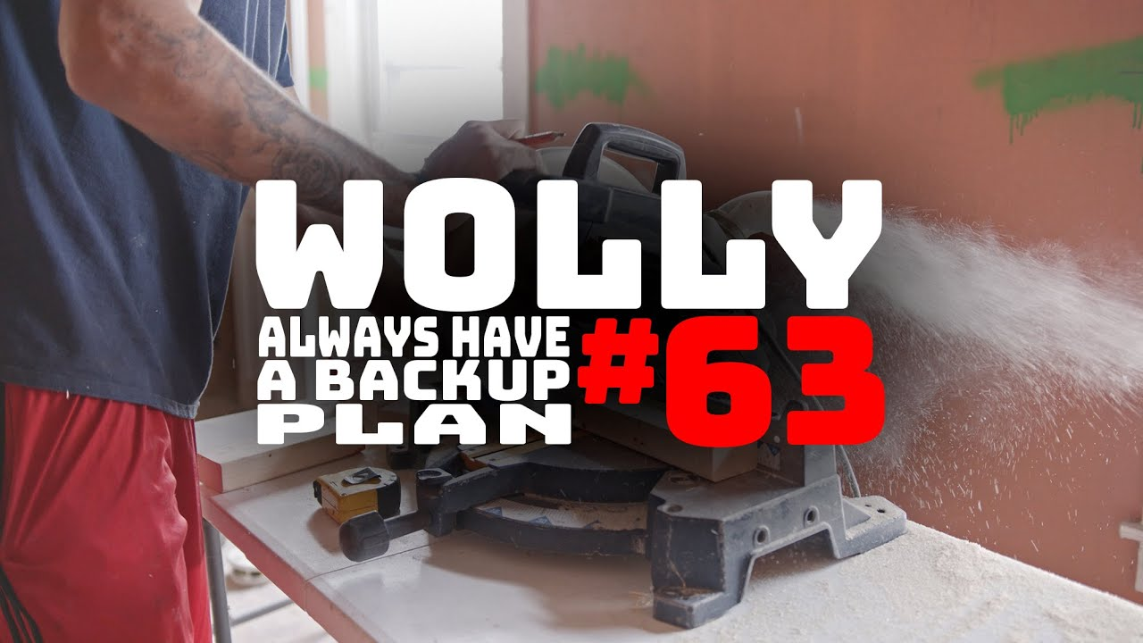 WOLLASTON WEDNESDAY #63: We are glad we had a backup plan!