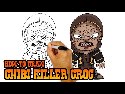 how to draw suicide squad deadshot