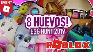 COMO COSEGUIR FACIL 8 EGGS DEL EGG HUNT 2019 ROBLOX P17
