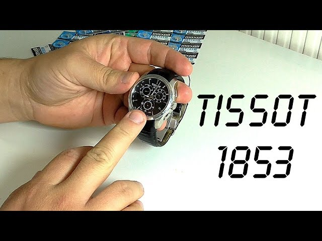 TISSOT 1853 – замена батарейки и обнуление хронографа