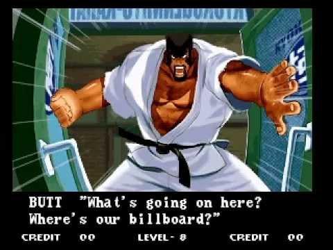 GAROU: MOTW ARCADE level 8 com KHUSHNOOD BUTT Marco Rodriguez