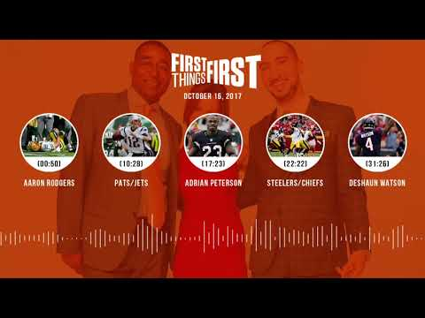 First Things First audio podcast(10.16.17)Cris Carter, Nick Wright, Jenna Wolfe | FIRST THINGS FIRST