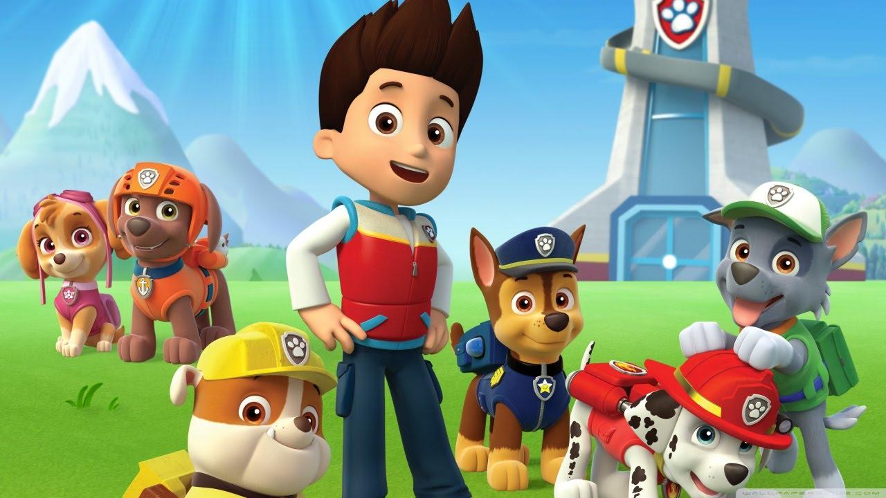 Paw patrol and their friends no job is too big no pup - Jeux de nick junior ...