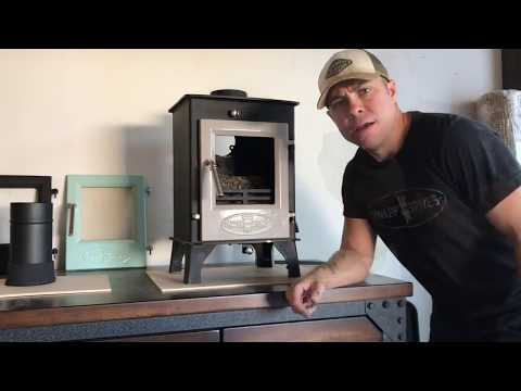 Dwarf Small Wood Stove: Direct-Air Intake Option
