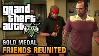 GTA 5 - Mission #21 - Friends Reunited [100% Gold Medal Walkthrough]