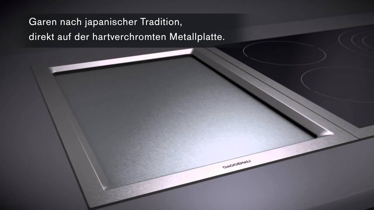 gaggenau teppan yaki youtube. Black Bedroom Furniture Sets. Home Design Ideas