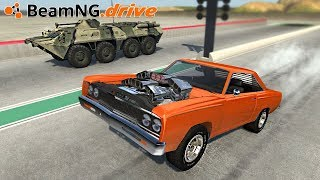 BeamNG.drive - 6 SUPERCHARGERS vs APC