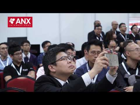 Global Launch of ANX Blockchain Services by Hugh Madden, CTO of ANX International