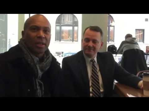 Even Former Governor Deval Patrick likes to hang out in downtown Worcester