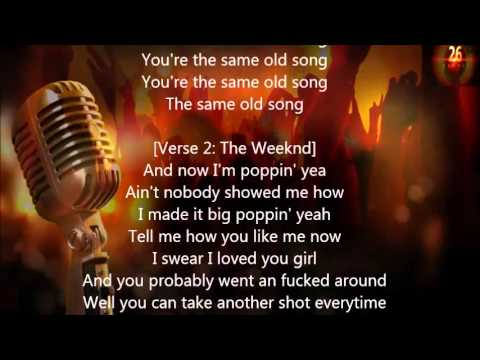 The Weeknd -  Same Old Song Lyrics