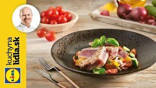 Šalát Panzanella s grilovaným tuniakom 🐟 | Roman Paulus | Kuchyňa Lidla
