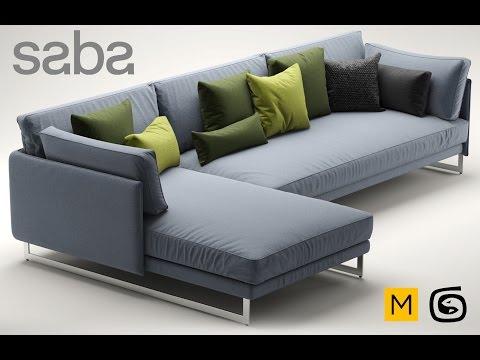 Моделирование дивана Autodesk 3ds Max & Marvelous Designer