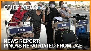 370 Filipinos repatriated from UAE arrive in Manila