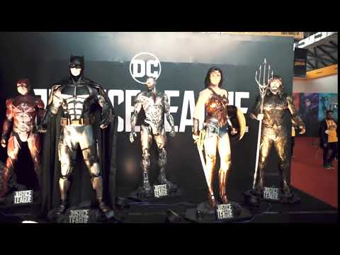 Justice League Zone at Mumbai Comic Con 2017!