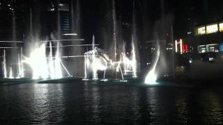 Dubai Fountain dancing on Michael Jackson's