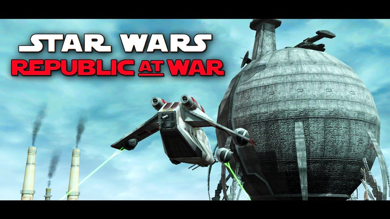 Star Wars EAW FOC Republic at War 1 2 Mod Part 14 - THE NEW ORDER!