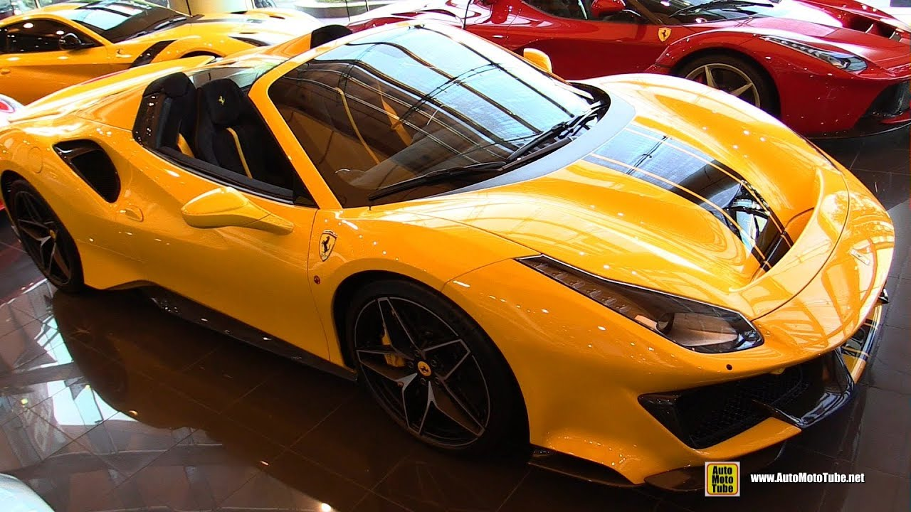 2020 Ferrari 488 Pista Spider Walkaround Youtube