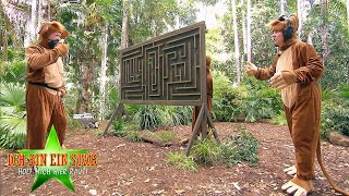 Dschungelcamp 2020   Schatzsuche reloaded: Elena, Danni & Markus machen sich zum Affen