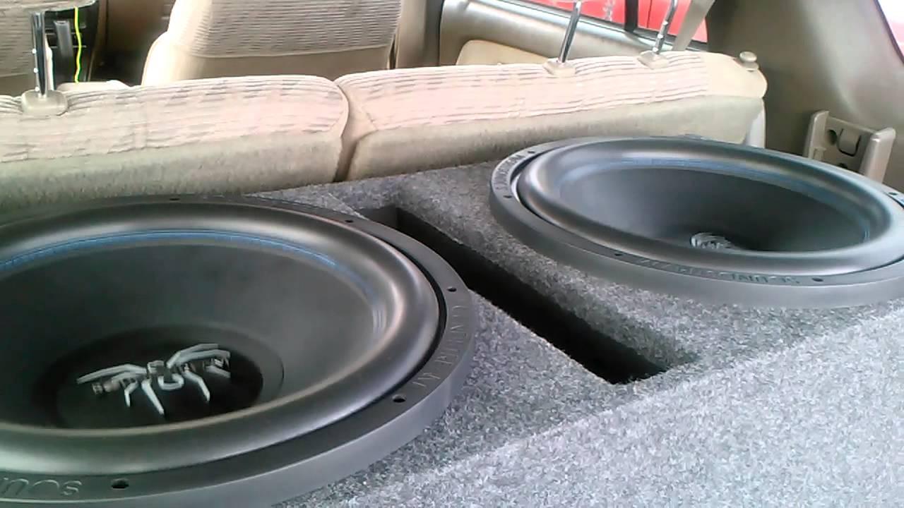 "Soundstream PXW-15 (pxw15) 15"" Dual 4 ohm Picasso Series"