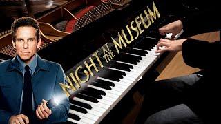 Night at the Museum - Main Theme - Epic Piano Solo | Léiki Uëda