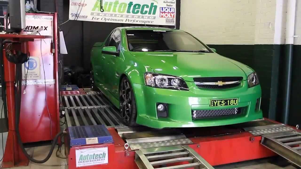 Holden LS2 Yella Terra Supercharger Installation