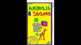 Baixar School Zone Animals & Shapes [VHS]