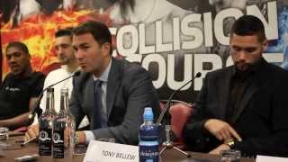 COLLISION COURSE PRESS CONFERNCE - FEAT. BELLEW, CLEVERLY, JOSHUA, C.SMITH, S.SMITH & FIELDING