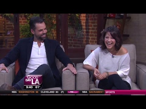 Good Day LA   Kimberly McCullough & Jason Thompson